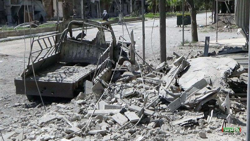 يوم دامٍ في العاصمة وريفها يوم أمس.. أكثر من 70 غارة جوية و276 قذيفة مدفعية