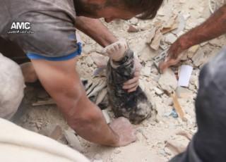 81 قتيلاً حصيلة ضحايا قصف الطيران الروسي الأسدي يوم أمس الأربعاء