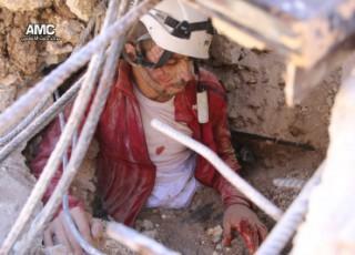 خروج مركز الدفاع المدني في بلدة اللطامنة عن الخدمة جراء القصف