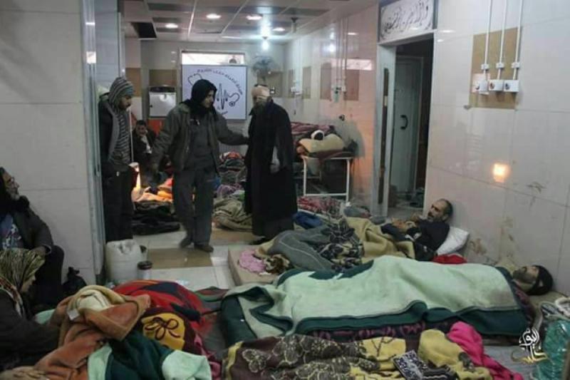 وصول نحو 150 مصاباً من نازحي حلب إلى تركيا لتلقي العلاج