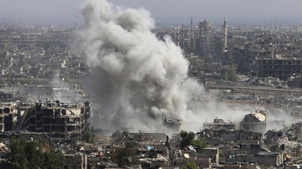 نشرة أخبار سوريا- مواجهات عنيفة على جبهات جوبر شرق العاصمة، وفرنسا تتنصل من مواقفها وتتخلى عن شرط رحيل الأسد -(21-6-2017)