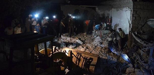 ارتفاع عدد ضحايا انفجار السيارة المفخخة في مدينة إعزاز إلى 30 قتيلاً وعشرات الجرحى