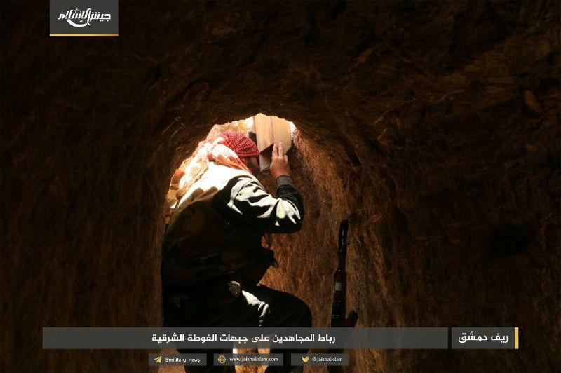 الثوار يفشلون محاولة قوات النظام التقدم على جبهتي الريحان وحزرما في الغوطة