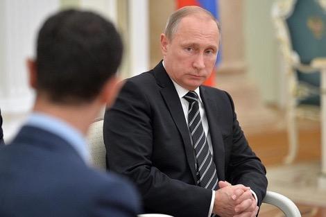 مصادر تكشف.. روسيا منعت الأسد من إلقاء خطاب النصر في حلب!