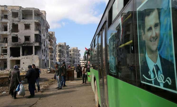 هدوء حذر وتأجيل خروج المحاصرين من حلب