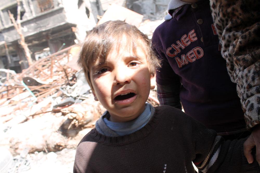 حملة شعبية لفتح ممرات إنسانية للإغاثة في الغوطة الشرقية