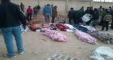 أخبار سوريا_ أكثر من 18 شخصاً قضوا ذبحاً بالسكاكين على يد شبيحة النظام في قرية ديمو بريف حماة، وتقدّم ملحوظ للمجاهدين في دمشق وريف حماة_ (17-9- 2014)