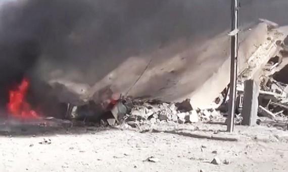 34 قتيلاً حصيلة ضحايا قصف الطيران الروسي الأسدي يوم أمس الأربعاء معظمهم في حلب