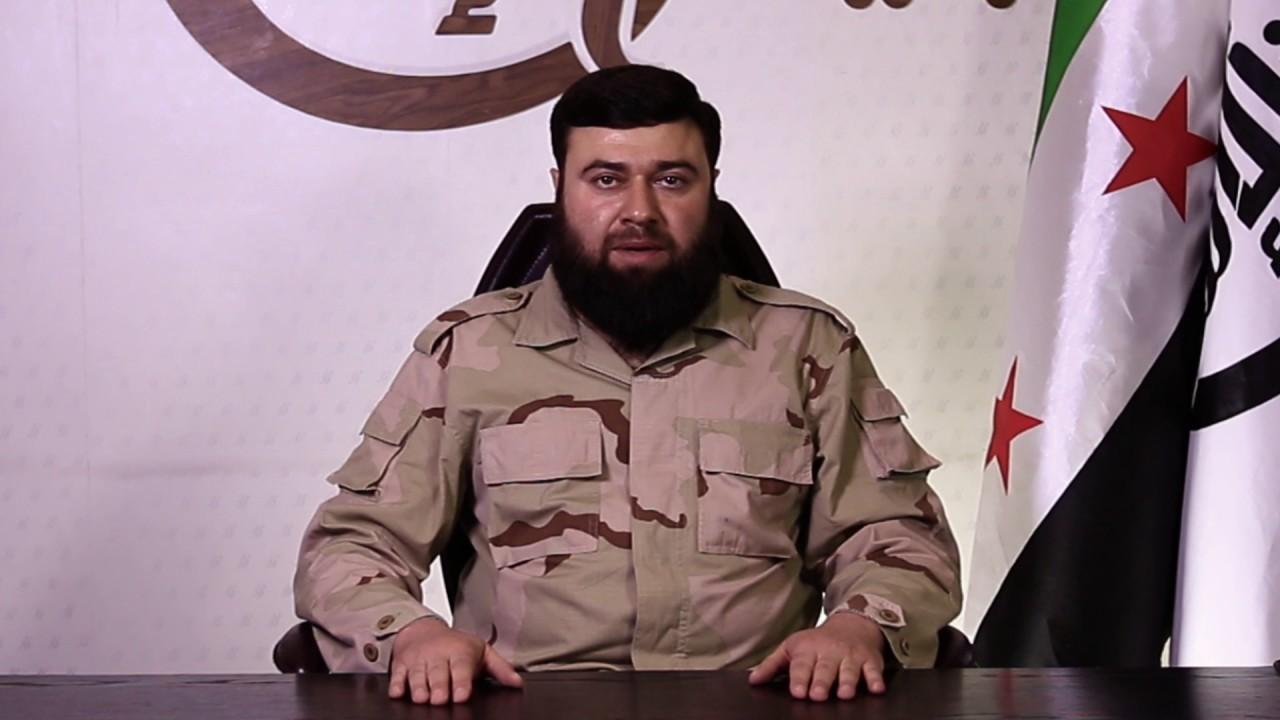 قائد جيش الإسلام في كلمة له يتوعد النظام بـ