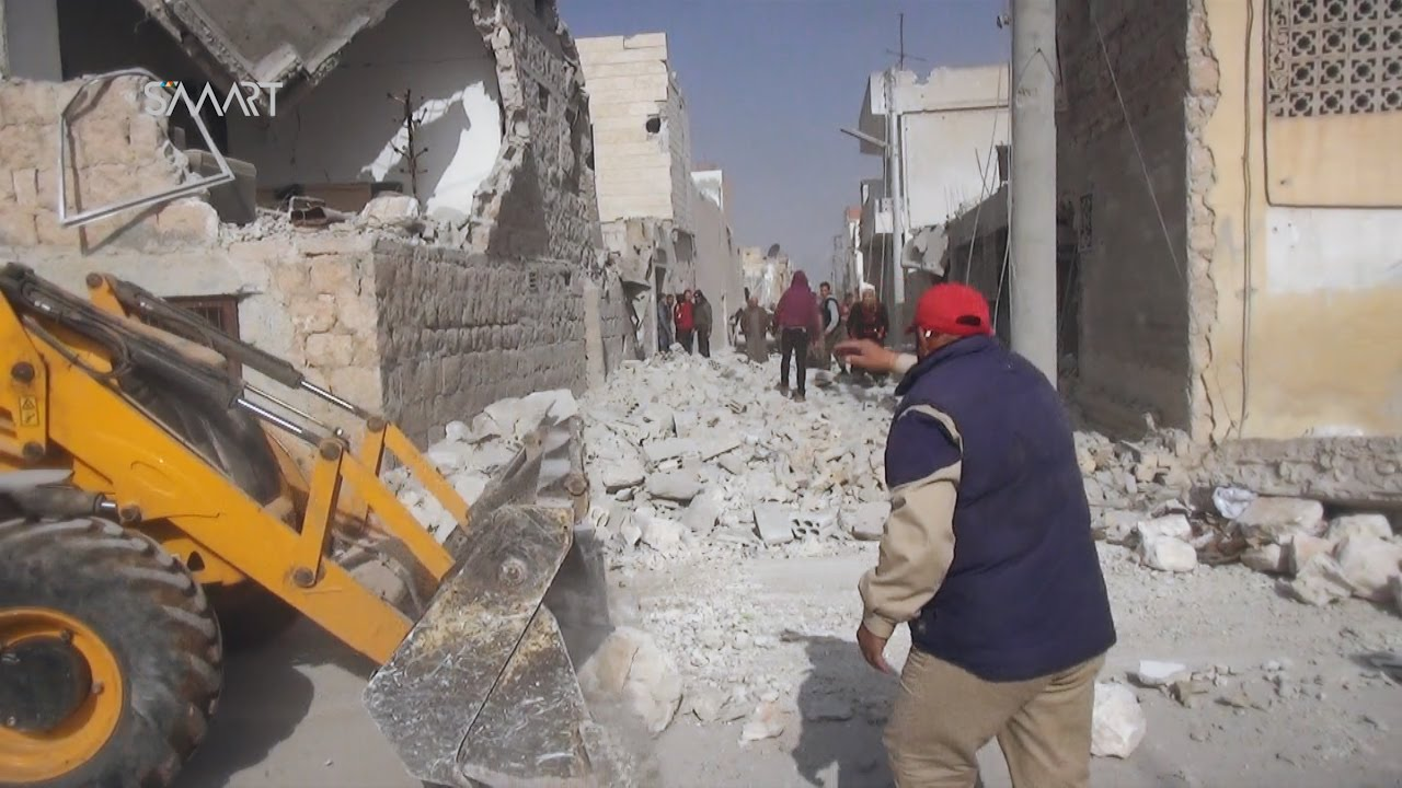 أكثر من 15 شهيداً في قصف للطيران الروسي على سجن في إدلب