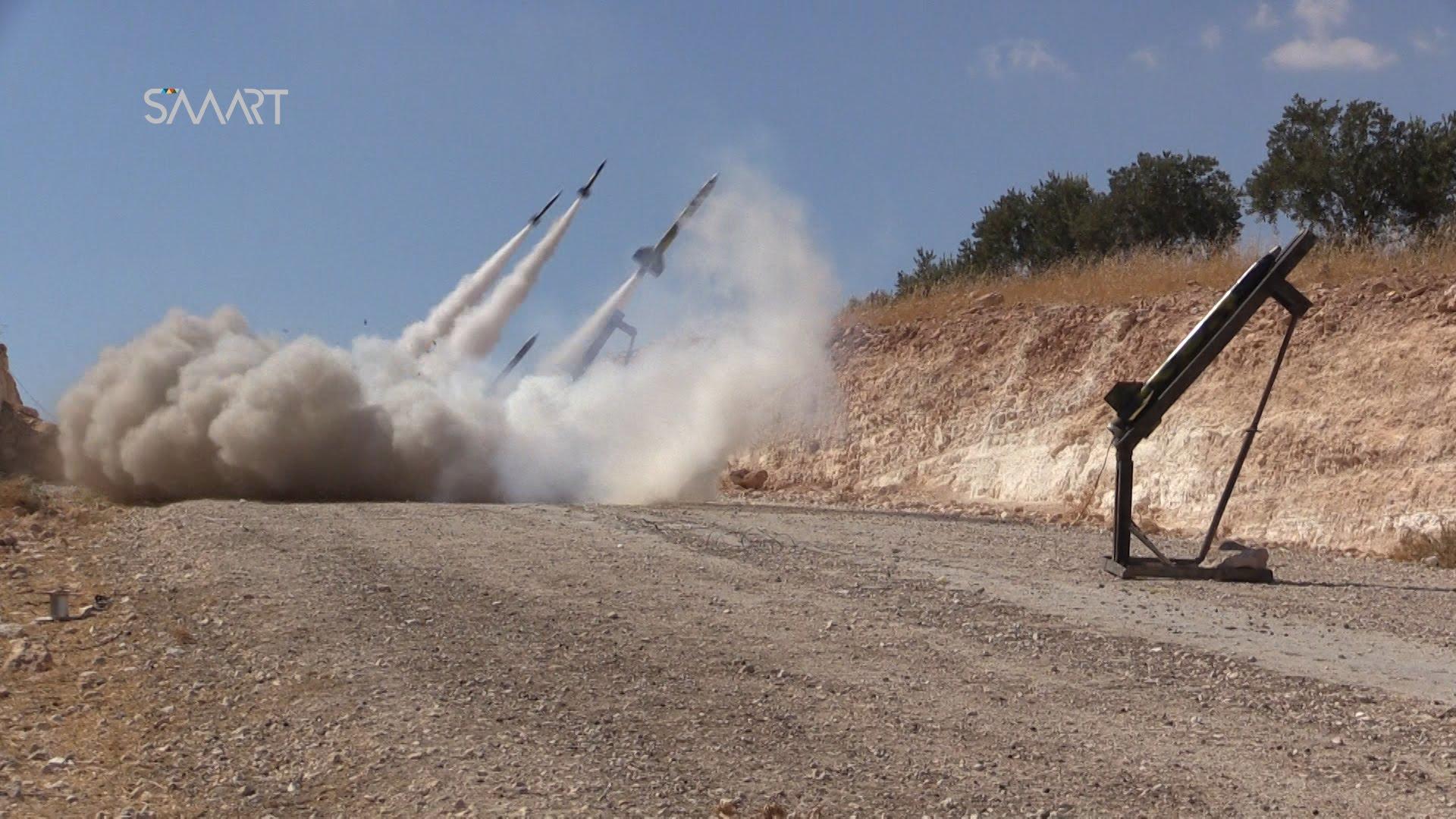 رداً على المجازر.. الثوار يستهدفون مواقع قوات الأسد بمختلف أنواع الأسلحة