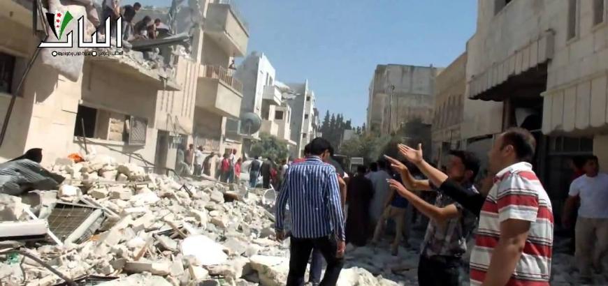 نشرة أخبار سوريا- أكثر من 100 شهيد في قصف للطيران الروسي على حلب، وسفير الأسد في روسيا يصرح: روسيا تساعدنا على تدمير كل الجماعات المتمردة في سوريا! -(1/2_10_2015)