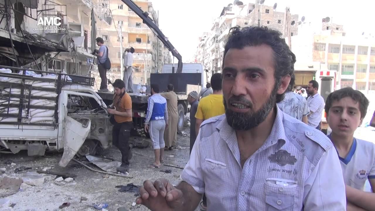 نشرة أخبار سوريا- سلسلة مجازر لطيران العدوان الروسي الأسدي في دمشق وحلب وإدلب، و20 قتيلاً من قوات أسد في معارك ريف دمشق -(23_4_2016)