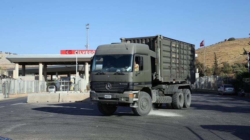 مدرعات تركية إضافية تتمركز في معبر باب الهوى الحدودي
