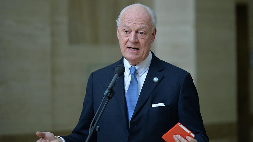 دي ميستورا: مفاوضات جادة بين وفدي المعارضة والنظام خلال الشهرين القادمين