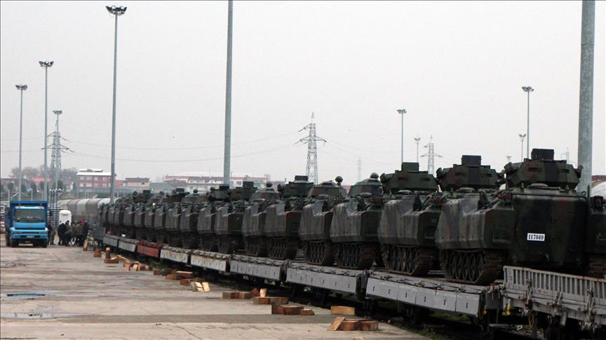 تعزيزات عسكرية تركية لدعم