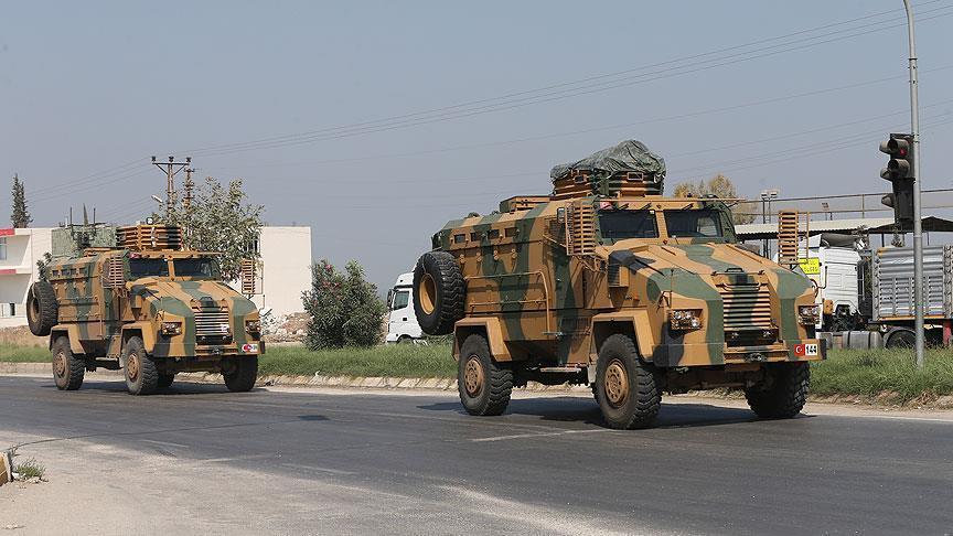 تعزيزات تركية إضافية على الحدود مع سورية