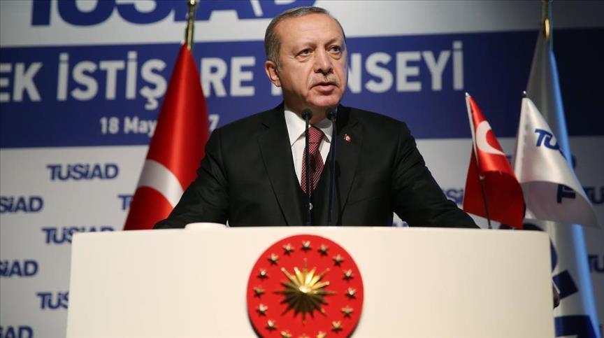 أردوغان: لن نتردد في شن عملية عسكرية شمال سوريا إن لزم الأمر