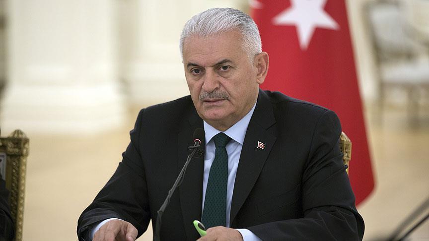 يلدريم: سنرد بشكل مباشر على أي تهديد ضد حدودنا الجنوبية مع سورية