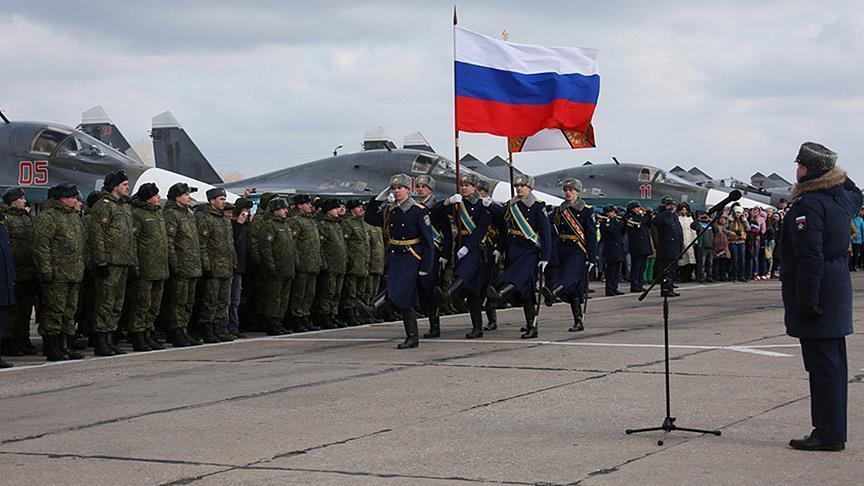 بشار الأسد يوفد رئيس أركانه لوداع حاملة الطائرات الروسية