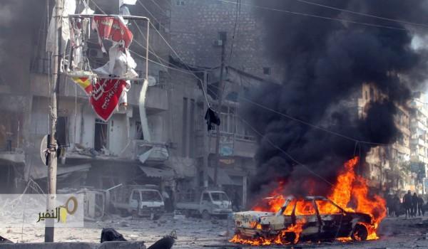 نشرة أخبار سوريا- أكثر من 100 شهيد في 3 مجازر ارتكبها طيران أسد في حلب، والجبهة الشامية تفكك عبوات ناسفة زرعها تنظيم الدولة على طريق صوران-تلالين - (30_5_2015)