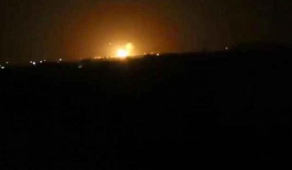 غارة إسرائيلية على مستودع أسلحة لمليشيا حزب الله داخل مطار دمشق الدولي