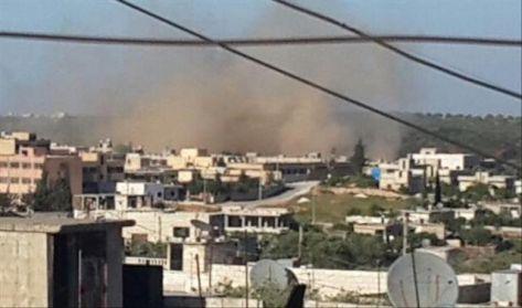 الكلور أداة انتقام النظام من إدلب
