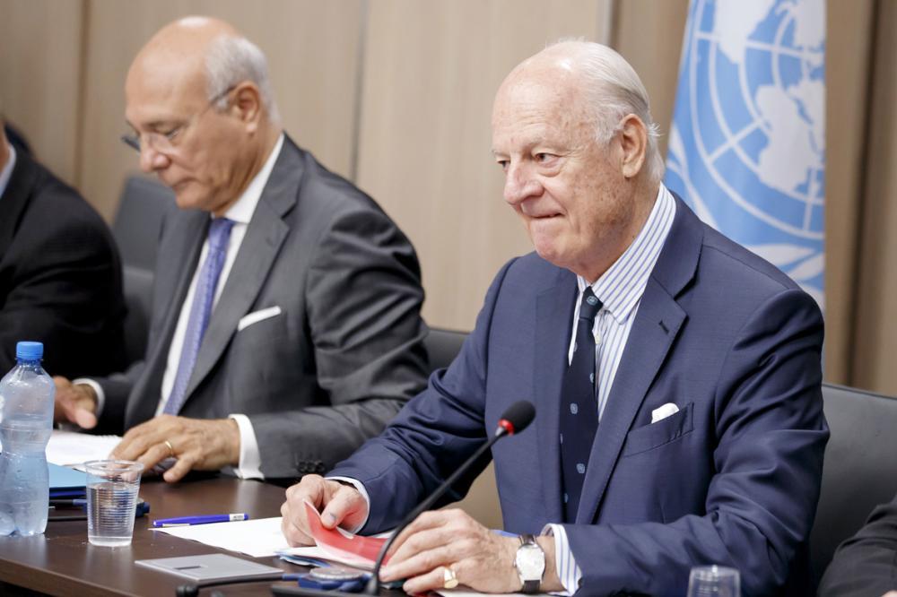 قضية الانتقال السياسي تغيب عن طاولة المفاوضات في جنيف7