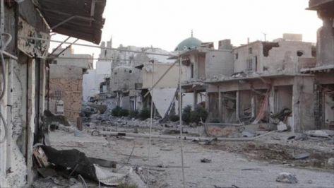 حي القابون الدمشقي يشكو الحصار